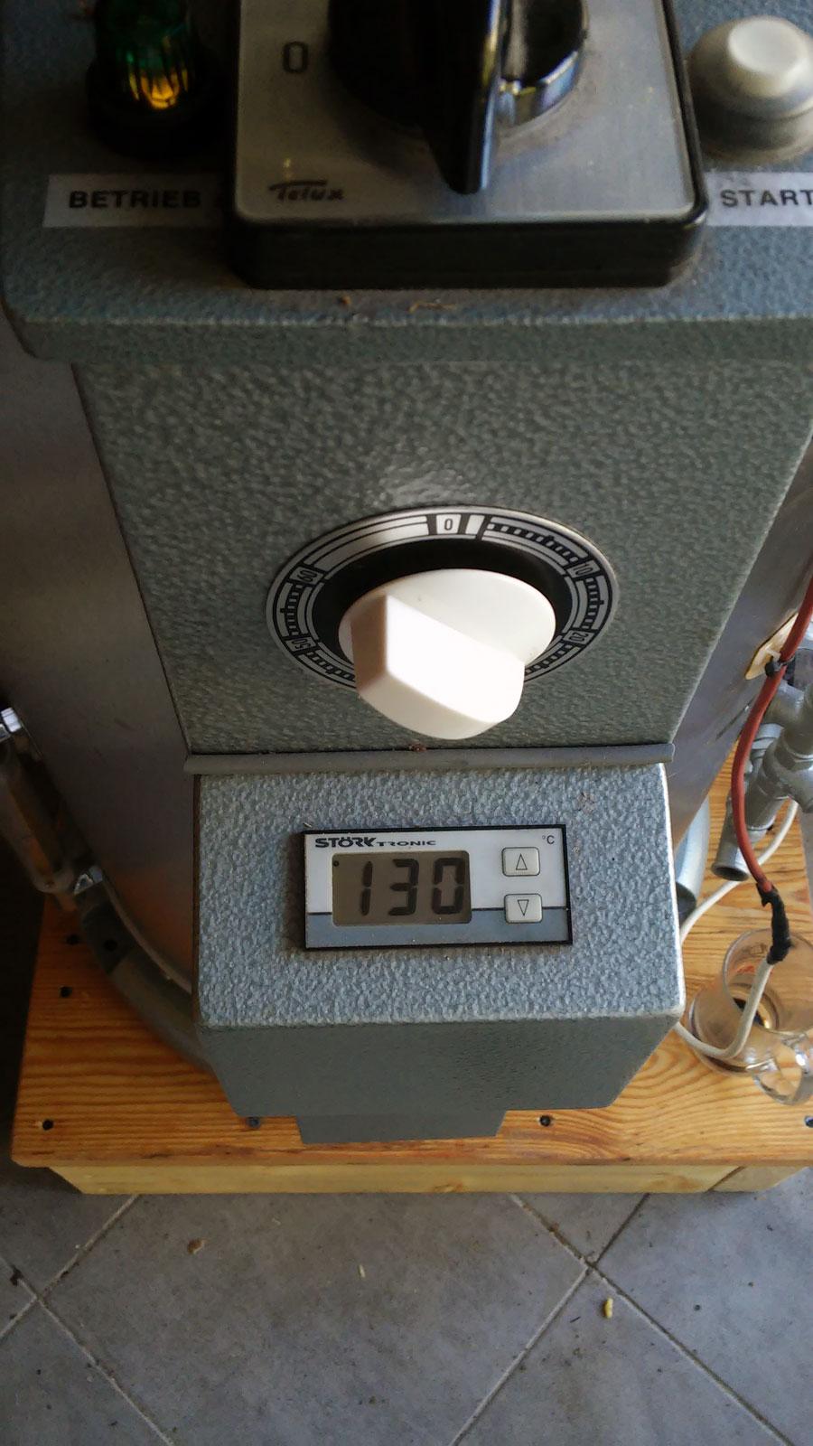 Temperatura w komorze wody